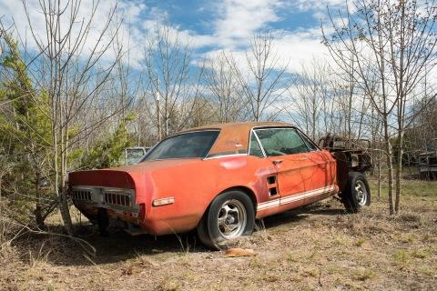 "Barrett-Jackson's Craig Jackson and Team Find ""Little Red,"" the 1967 Ford Shelby GT500 EXP Prototype"