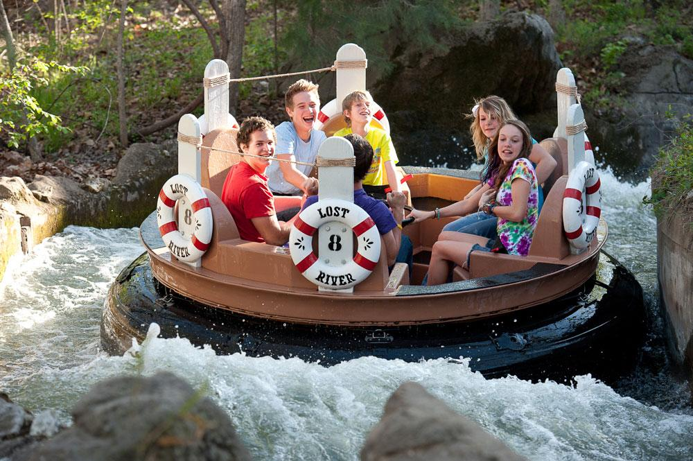 The theme park in the Ozarks is centered around an 1880s experience—if in the 1880s they also had thrill rides and water parks. The family-oriented park is also situated next to one of the area's oldest natural attractions, Marvel Cave.
