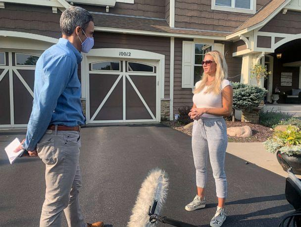 PHOTO: Michelle Fazi, a realtor and mother of three in Chanhassen, Minn., says she does not think a national mask mandate is an effective, or patriotic, response to the coronavirus pandemic. (ABC News)