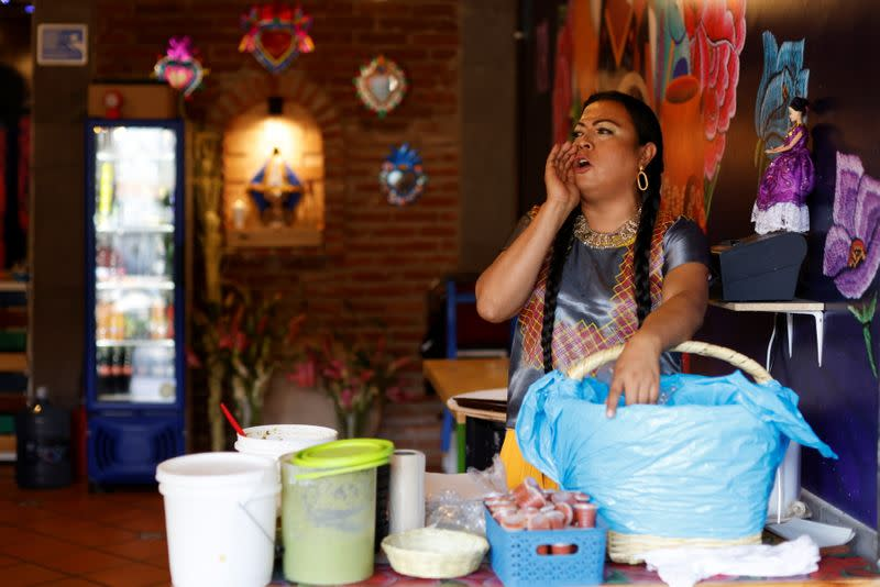 Lady Tacos de Canasta is set to campaign in local elections in Mexico City