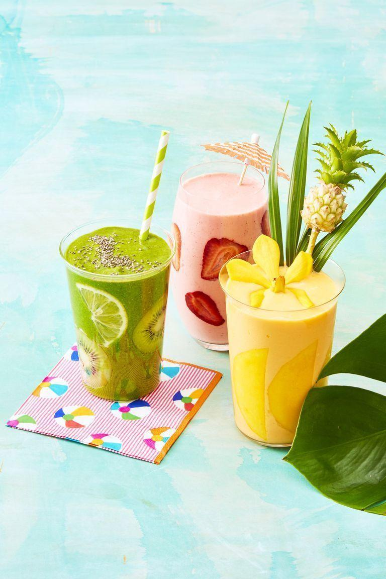"<p>When you're in need of a quick source of nutrients that is also delicious, smoothies are a great solution. Loaded with essential vitamins and minerals, the blend of fruits, veggies, and protein-rich milk or yogurt can be a <a href=""https://www.womansday.com/food-recipes/food-drinks/g1884/healthy-breakfasts-to-help-lose-weight/"" rel=""nofollow noopener"" target=""_blank"" data-ylk=""slk:healthy breakfast"" class=""link rapid-noclick-resp"">healthy breakfast</a> or <a href=""https://www.womansday.com/food-recipes/food-drinks/g2071/best-foods-for-energy/"" rel=""nofollow noopener"" target=""_blank"" data-ylk=""slk:energizing snack"" class=""link rapid-noclick-resp"">energizing snack</a>. And as easy as it is to pick up a six-pack at the grocery store or a custom one at your nearest juice shop, it's even easier (and, let's be honest) cheaper to whip up a healthy smoothie recipe right at home. Heck, you can even make a big batch on Monday to last you through the week. </p><p>To help make the smoothies more filling, you should swap out some of the unnecessary sweeteners for sources of fiber and protein. Additionaly, as <a href=""https://www.nyp.org/physician/alkagupta"" rel=""nofollow noopener"" target=""_blank"" data-ylk=""slk:Dr. Alka Gupta"" class=""link rapid-noclick-resp"">Dr. Alka Gupta</a>, co-director of the <a href=""https://www.nyp.org/clinical-services/integrative-health-program"" rel=""nofollow noopener"" target=""_blank"" data-ylk=""slk:Integrative Health & Wellbeing Program"" class=""link rapid-noclick-resp"">Integrative Health & Wellbeing Program</a> at New York-Presbyterian and Weill Cornell Medicine told INSIDER, ""be careful about how often you're having them, the amount that you're having, the sugar content of what you're adding, and added sugars/ingredients."" </p><p>Ready to get blending? Any one of these homemade smoothies, made of <a href=""https://www.womansday.com/food-recipes/food-drinks/g2211/best-superfoods/"" rel=""nofollow noopener"" target=""_blank"" data-ylk=""slk:superfoods"" class=""link rapid-noclick-resp"">superfoods</a> like spinach and kale, and sweet ingredients like strawberries, mango, and pineapple, will sustain you for a few hours, and have you ready to conquer whatever the day has in store for you. </p>"