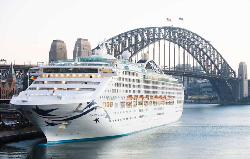 Say hello to the Pacific Explorer, with P&O Cruises Australia. Source: Supplied