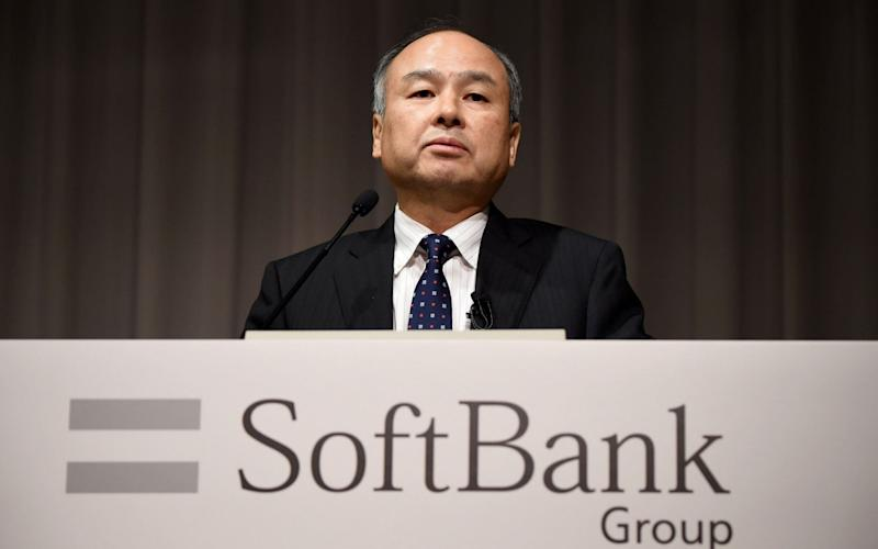 SoftBank's $100bn Vision Fund has seen returns of 62pc from a total of 71 investments. - AFP