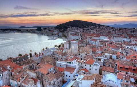 Split at sunset - Credit: Getty