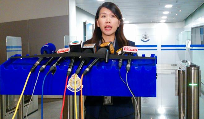 Chief Superintendent Wu Miu-yee of Commercial crime bureau said police welcomed the court's ruling, which upheld the rule of law by passing a stringent sentence. Photo: Brian Wong