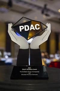 Dating back to 1977, PDAC Awards are a way to acknowledge exceptional contributors. Recipients are celebrated at a prestigious Awards Gala every year in March during the annual PDAC Convention.