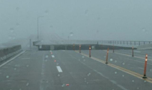 Hurricane Sally: 'Nightmare' storm moving at just 3mph wipes out section of new bridge