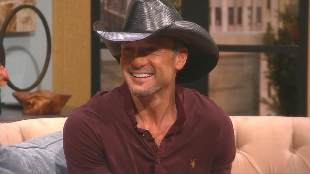 Tim McGraw visits Access Hollywood Live on February 7, 2013 --