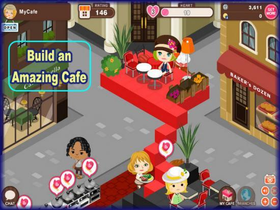 World Chef build an amazing cafe