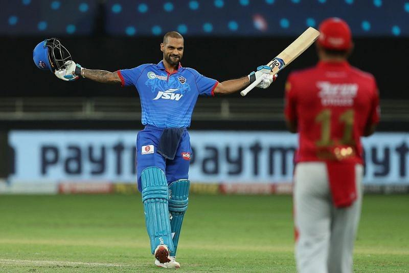 Dhawan's imperious form took the team to a respectable total. [PC: iplt20.com]