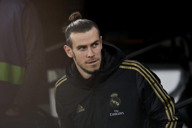 """Gareth Bale's agent has said he is """"not ecstatic"""" at Real Madrid. (Credit: SOPA Images/Sipa USA)"""