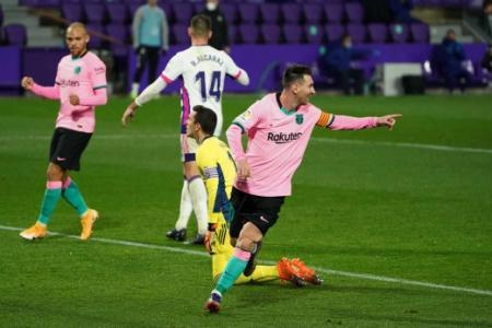 Real Valladolid x Barcelona - Messi