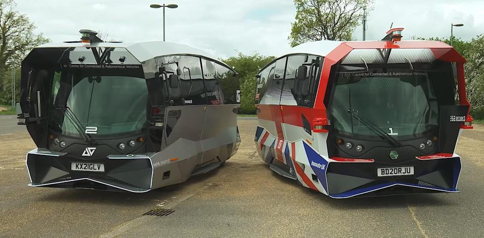 The shuttles could one day join the UK's public transport network (Greater Cambridge Partnership/Aurrigo)