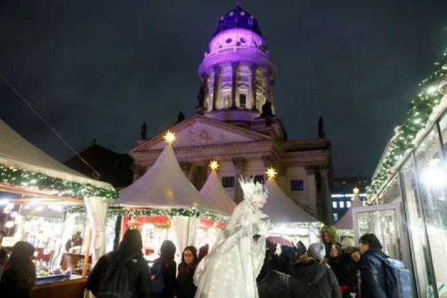 Germany's Christmas markets open under tight security a year after attack