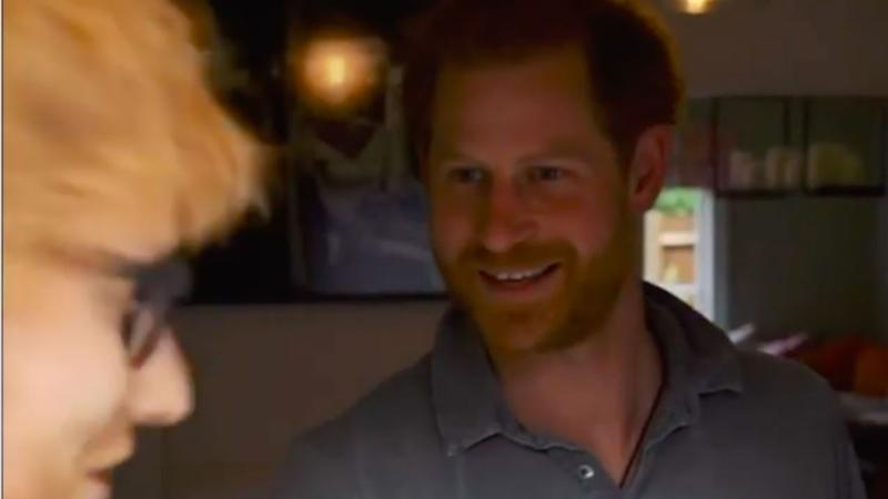 Prince Harry and Ed Sheeran tease new project