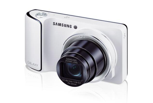 Samsung's gigantic Galaxy Camera is not exactly pocket-sized - it has a 4.8-inch Android screen strapped to the back, offering wi-fi, 4G and apps to share photos the instant you've taken them. The 16-megapixel superzoom turns out pictures that coolly outperform any smartphone's efforts, and the 4G model will turn anyone into the fastest Facebooker in the West. The only thing it CAN'T do is make calls – probably a good thing with that huge lens sticking out the side.