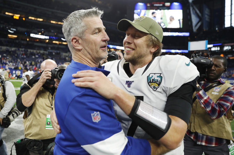 Colts' Frank Reich explains what makes Bears' Nick Foles a unique NFL player
