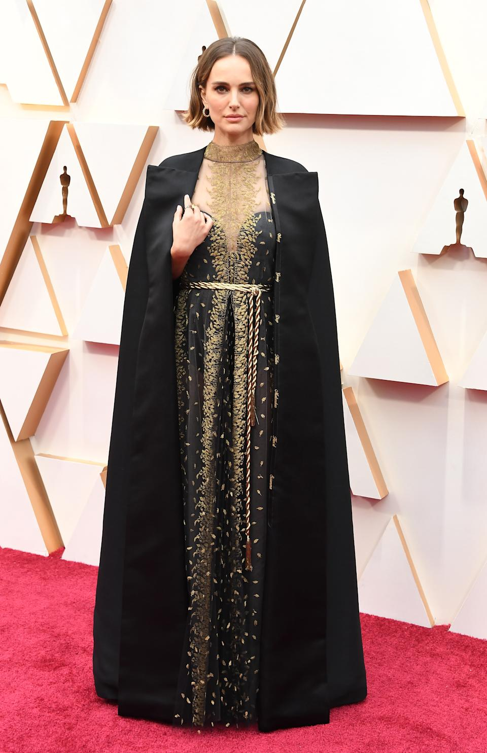 HOLLYWOOD, CALIFORNIA - FEBRUARY 09: Natalie Portman attends the 92nd Annual Academy Awards at Hollywood and Highland on February 09, 2020 in Hollywood, California. (Photo by Steve Granitz/WireImage)