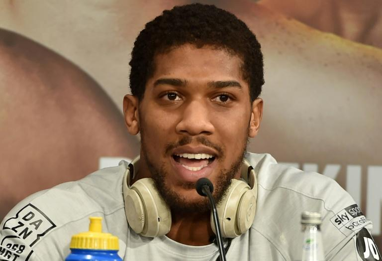 Anthony Joshua goes into self-isolation after contact with Prince Charles