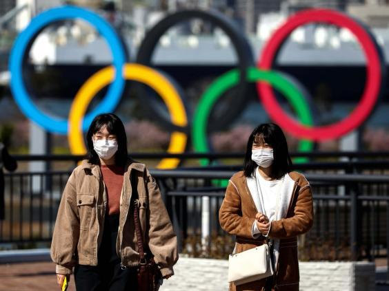 People wearing protective face masks, following an outbreak of the coronavirus, are seen in Tokyo (REUTERS)