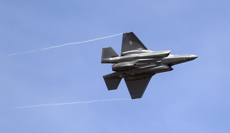 AP Interview: F-35 fighter show is gesture to US allies