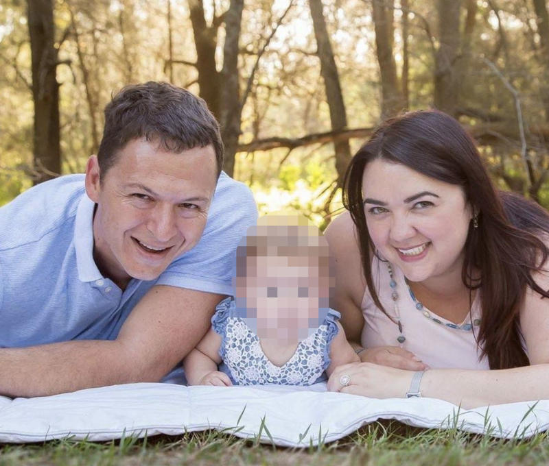 Francois Schwartz acted to protect his family (pictured). Source: Facebook