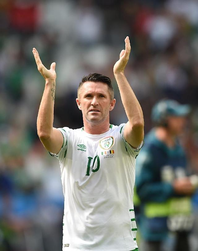 Over 18 years have passed since Keane made his Ireland debut against the Czech Republic as a raw 17-year-old striker at Wolverhampton Wanderers (AFP Photo/Nicolas Tucat)