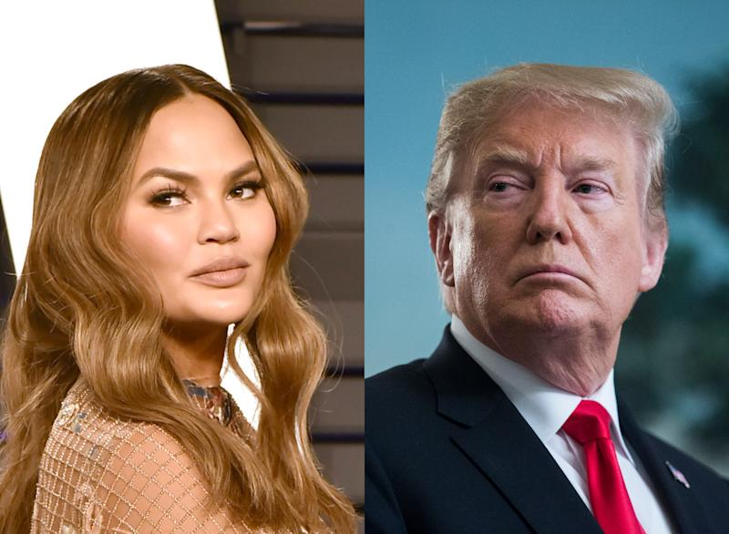 "Chrissy Teigen Was ""Really Angry"" About Those Trump Tweets"