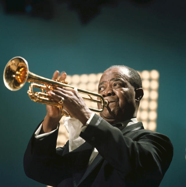 "<p>Oldest artist to top the Hot 100. Satchmo was 62 when he topped the chart with his version of the Broadway showstopper ""Hello, Dolly!"" in May 1964. (Photo: David Redfern/Redferns) </p>"