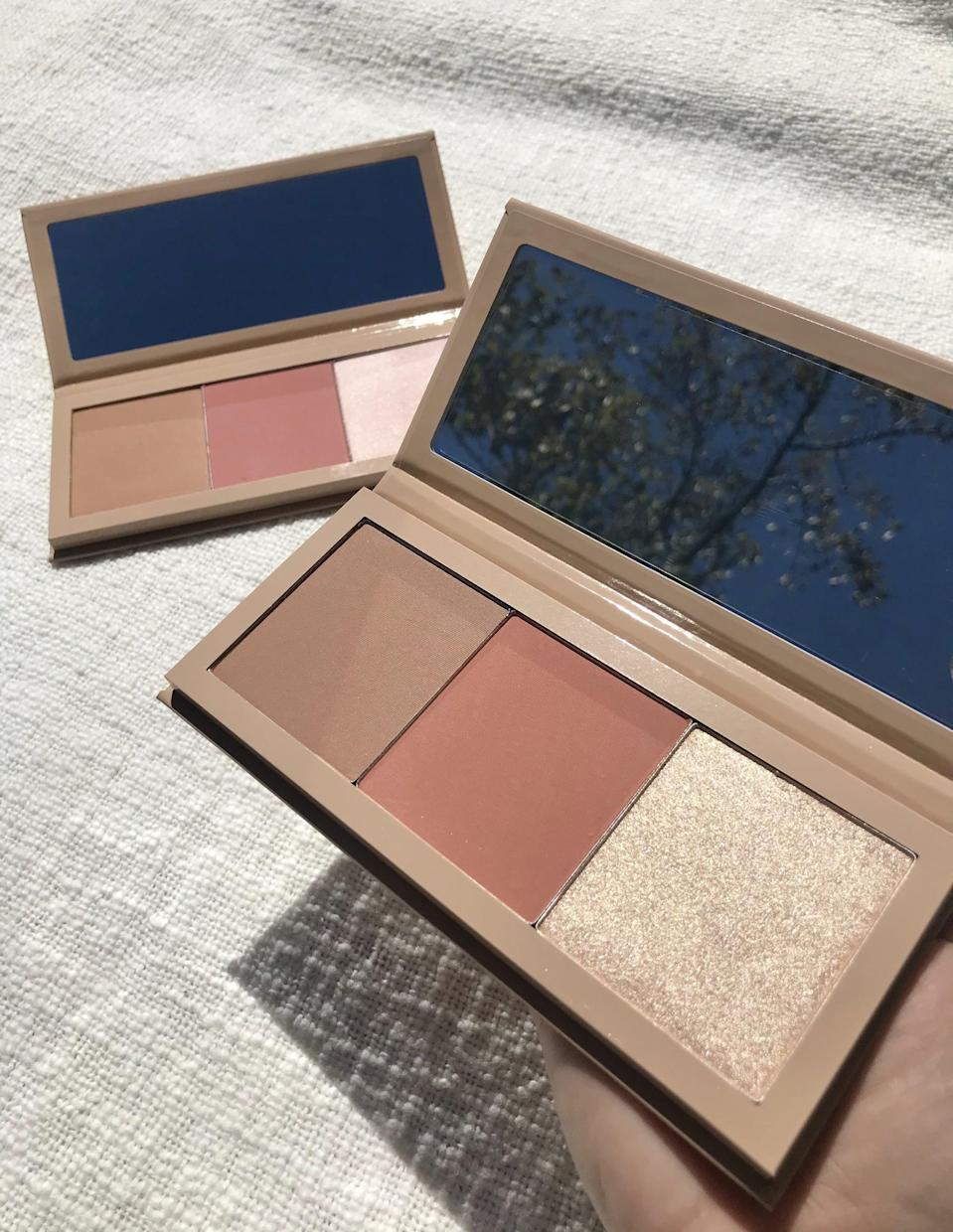 <p>The <span>KKW x Allison Face Palettes</span> ($38) are one of my favorite options from the collection. You can get so much use out of them (I have already used both multiple times this week).</p>