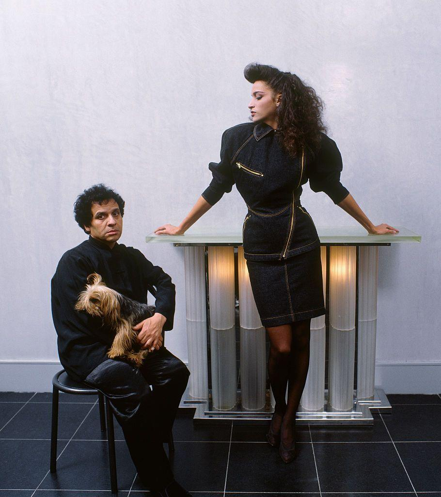 <p>Farida Khelfa was 15 years old when she left her strict Muslim household for the bright lights of Paris. There, she was discovered by photographer Jean-Paul Goude, who introduced her to designer Azzedine Alaïa. Over the decade, Khelfa served as one of Alaïa's muses, walking his runway shows and gracing magazine spreads in his sleek, sultry designs. She also had the same relationship with Jean Paul Gaultier and Christian Louboutin. Over the years, Khelfa has produced documentaries, served as brand ambassador for Schiaparelli, and recently walked the catwalk of Fendi.</p>