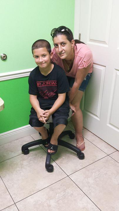 Florida mom Nicole Gainey was arrested for allowing her son to walk to a park alone. (Photo: GoFundMe)