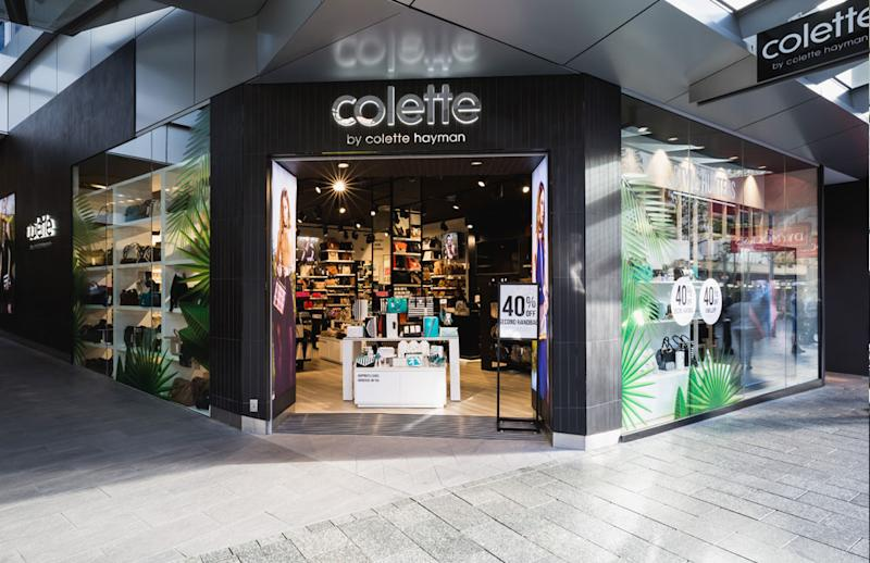 A Colette by Colette Hayman store in Perth. (Source: Enex)