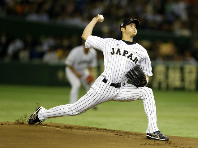 "The <a class=""link rapid-noclick-resp"" href=""/mlb/teams/tex/"" data-ylk=""slk:Texas Rangers"">Texas Rangers</a> have the most money to offer Japanese baseball star Shohei Otani, but is this really about the money? (AP)"
