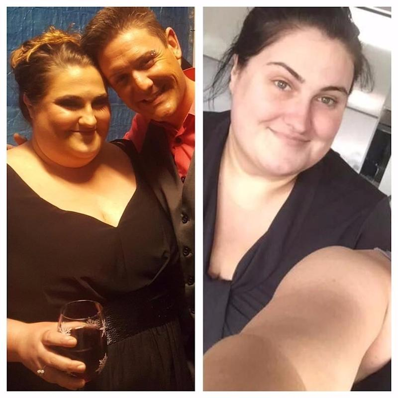 May 2016 vs April 2017. 5kg down. Source: Supplied