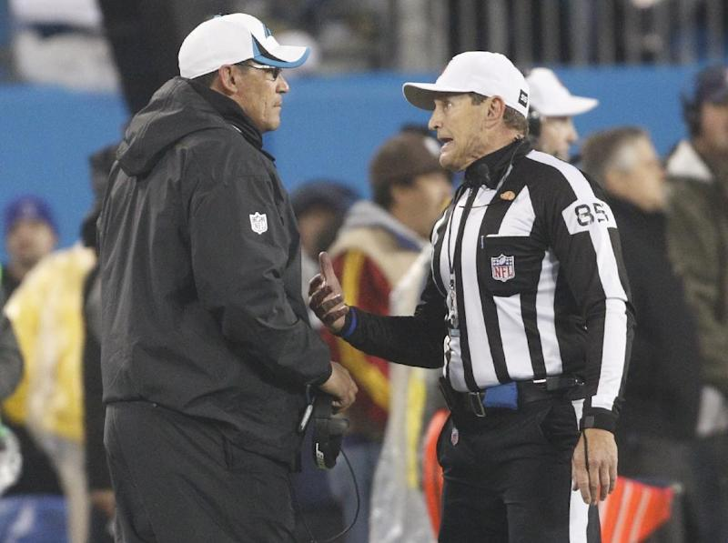 The NFL announced it will hire up to 24 full-time officials. (AP)
