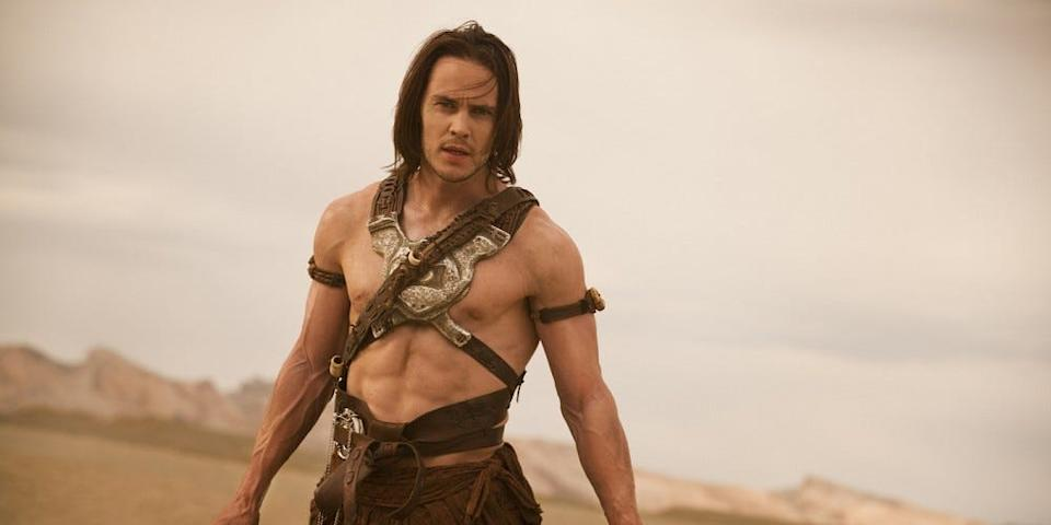"""""""John Carter"""" was one of Taylor Kitsch's first big roles after TV hit """"Friday Night Lights."""""""