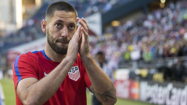 Clint Dempsey has announced his retirement from professional soccer at the age of 35. (Getty)