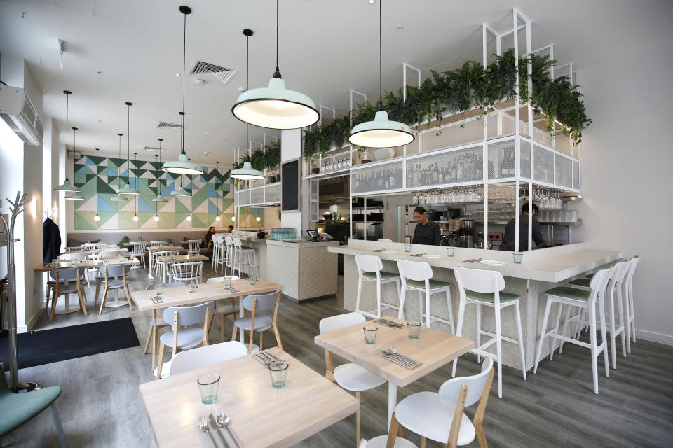 Vegan restaurant Stem + Glory is among the group of startups to secure cash from the Future Fund. (Stem + Glory)