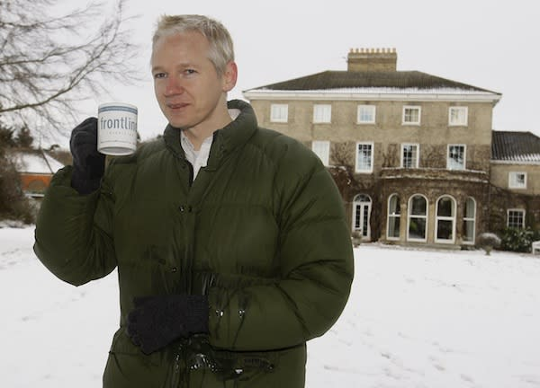 Assange isn't talking to the Times