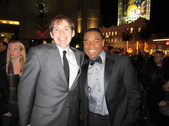 """Kerry and Dexter Darden at the world premiere of """"Joyful Noise."""""""