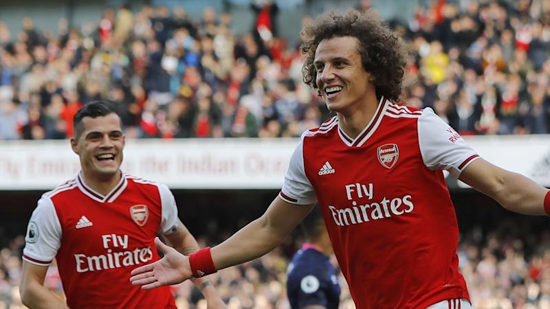 Granit Xhaka, David Luiz, Arsenal