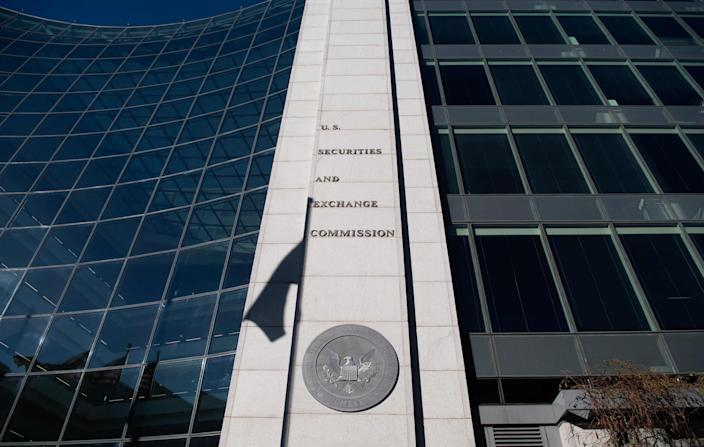 Headquarters of the U.S. Securities and Exchange Commission (SEC) on Jan. 28, 2021, in Washington, D.C.