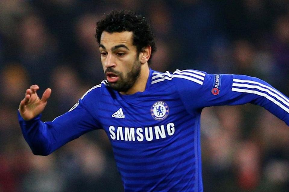 Mo Salah played just 13 Premier League games for Chelsea  (Getty Images)