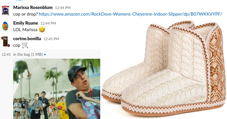 """<h2>20% Off RockDove Cheyenne Cable Knit Indoor Bootie</h2><br>""""Well, boo on me for getting sucked into the Prime Day madness because now I want these Cameron Diaz trapped inside for winter à la <em>The Holiday</em> slipper boots.""""<br><br><em>— Marissa Rosenblum, Shopping Director</em><br><br><strong>Rock Dove</strong> Cable Knit Indoor Bootie, $, available at <a href=""""https://www.amazon.com/RockDove-Womens-Cheyenne-Indoor-Slipper/dp/B07WKKVYPF/"""" rel=""""nofollow noopener"""" target=""""_blank"""" data-ylk=""""slk:Amazon"""" class=""""link rapid-noclick-resp"""">Amazon</a>"""