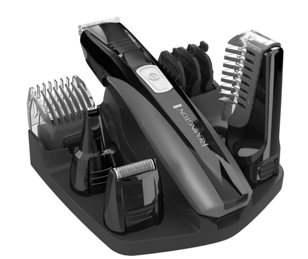 "<p>Some dads just can't be bothered with too much equipment. This electric shaving kit is cordless, rechargeable, and versatile for the entire body, from beard combs to body hair trimmers to self-sharpening blades. <b><a href=""http://www.remingtonproducts.com/mens/groomers/personalgroomers/pg525-lithium-power-series-head-to-toe-grooming-kit.aspx"" rel=""nofollow noopener"" target=""_blank"" data-ylk=""slk:Remington Power Series Head to Toe Grooming Kit"" class=""link rapid-noclick-resp"">Remington Power Series Head to Toe Grooming Kit</a> ($35)</b></p>"