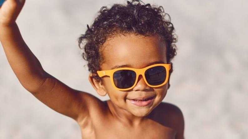 Kids' sunglasses don't need to be expensive to offer good protection.