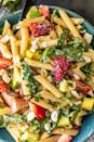 """<p>This strawberry avocado pasta salad is an inventive take on the traditional pasta salad that's usually served at summer barbecues. A balance of avocado, feta, strawberries, and poppy seed dressing create a light dish that will have you coming back for seconds. Dig in!</p> <p><strong>Get the recipe:</strong> <a href=""""http://www.thecookierookie.com/strawberry-avocado-pasta-salad-recipe/"""" class=""""link rapid-noclick-resp"""" rel=""""nofollow noopener"""" target=""""_blank"""" data-ylk=""""slk:strawberry avocado pasta salad"""">strawberry avocado pasta salad</a></p>"""