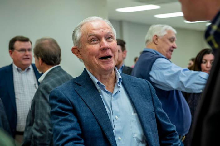 Jeff Sessions was once one of President Donald Trump's closest allies — and became his attorney general — but they had a falling-out when Sessions recused himself from the Russia investigation. (Photo: Vasha Hunt/Associated Press)