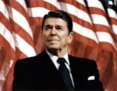 <p>It's often forgotten that before Ronald Reagan became the 40th President in 1981, he was an actor. Reagan's transition from the silver screen to politics first began when he won the 1967 election and became California's Governor.</p>